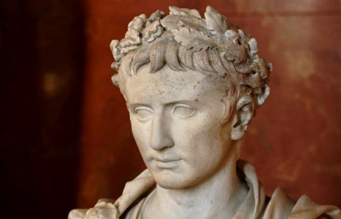 Скульптурный портрет Октавиана Августа