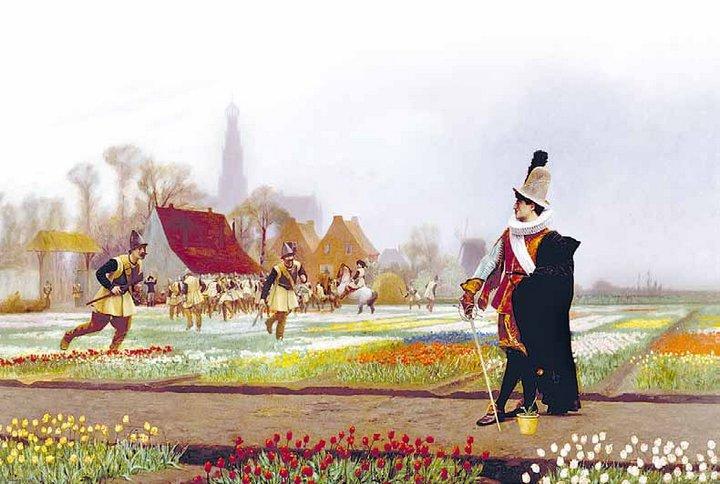 История и легенды о тюльпане